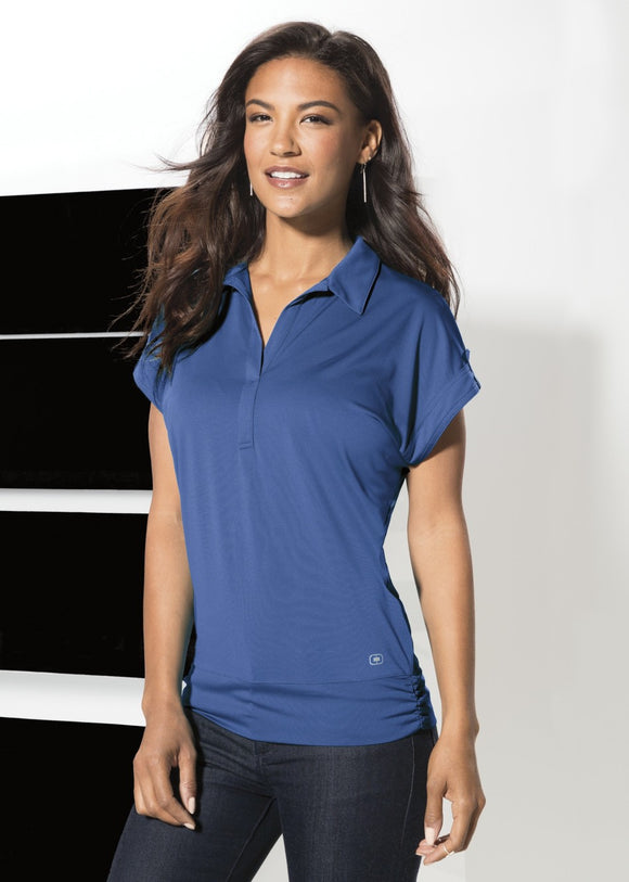 OGIO® MICROSTRIPE LADIES' POLO. LOG119