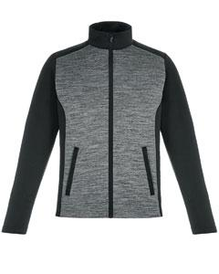 Mens two toned grey and black jacket