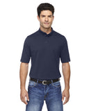 Mens Performance Polo Navy on model