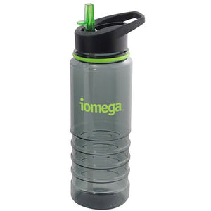 Smoke Coloured Tritan Water Bottle