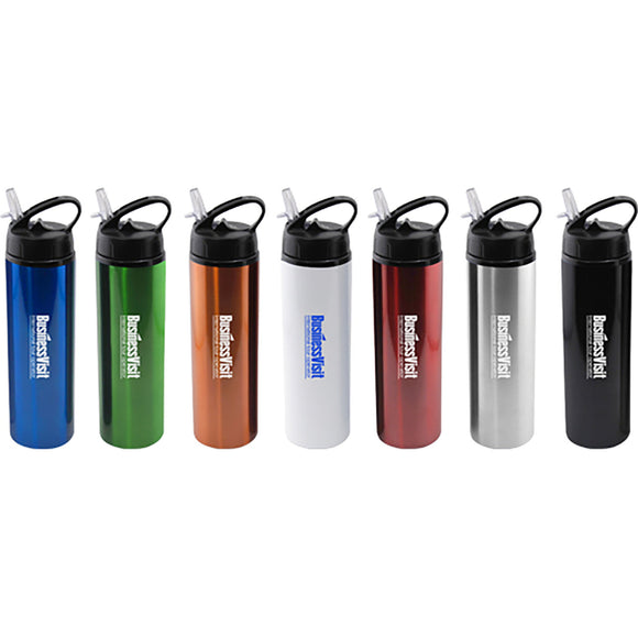 Sport Water Bottle With Flip Top Lid