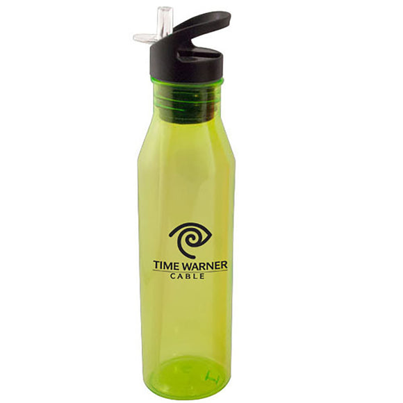24 oz green Tritan Water Bottle