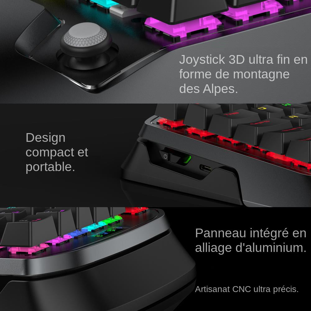 clavier souris gamer vx2 design