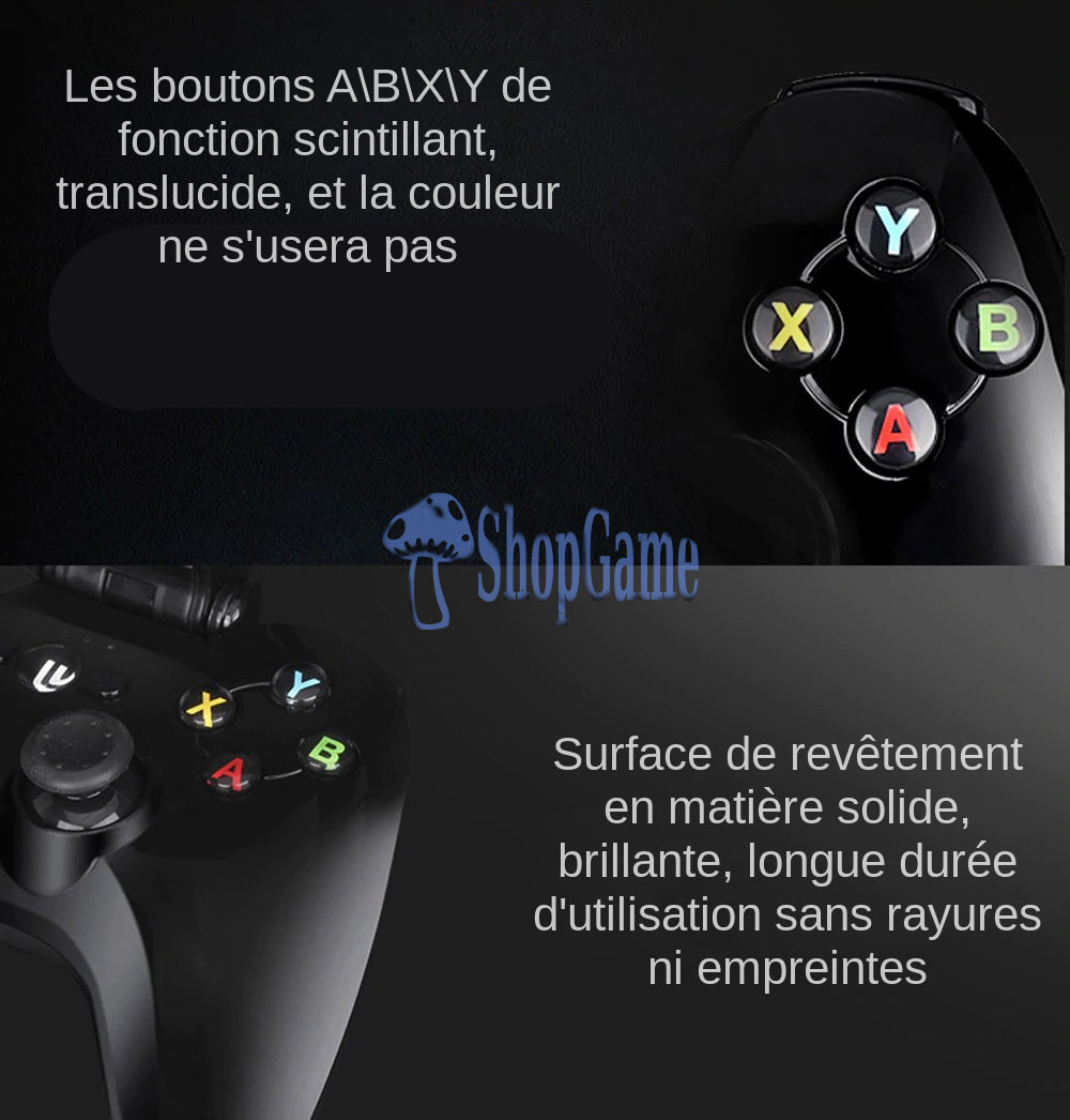 manette iphone mfi boutons