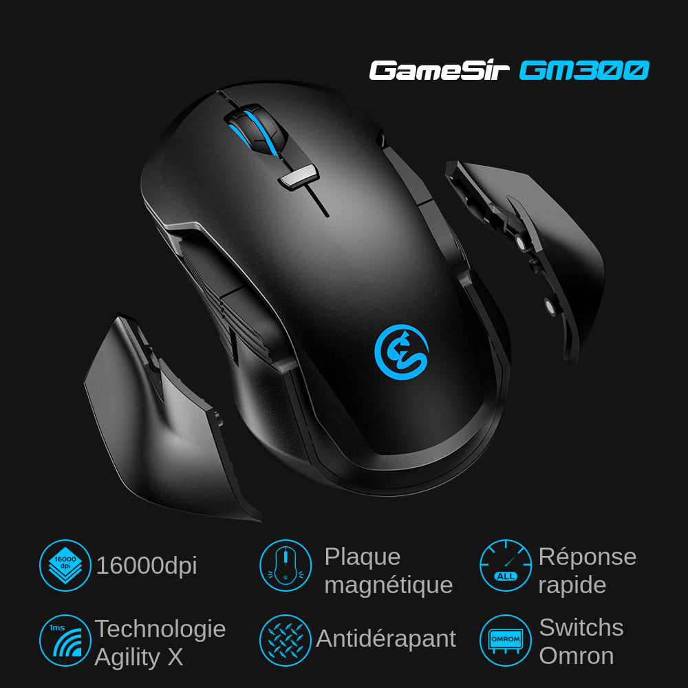 souris gamer gamesir gm300