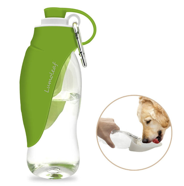 fac7a926bb ... 650ml Sport Portable Pet Dog Water Bottle Expandable Silicone Travel Dog  Bowl ...