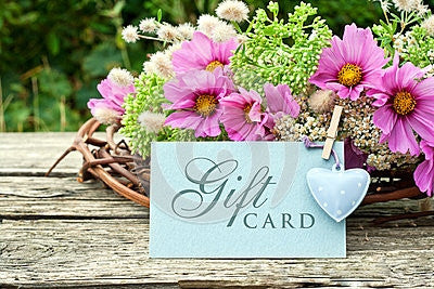 Gift Card - Vintage and Floral handmade quilts