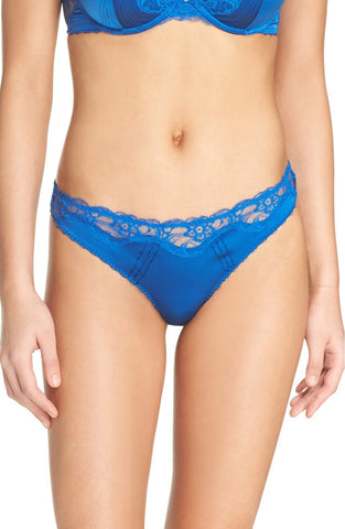 Stella McCartney - Eloise Enchanting Thong in Classic Blue