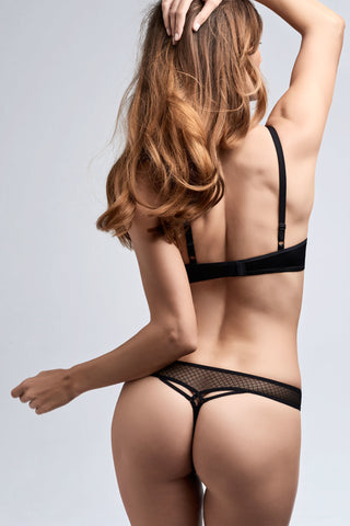 Marlies Dekkers -  Black Key 4cm Thong