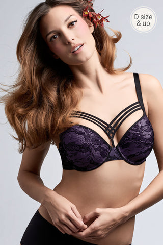 Marlies Dekkers -  Dame De Paris Plunge Bra in Hidden Purple