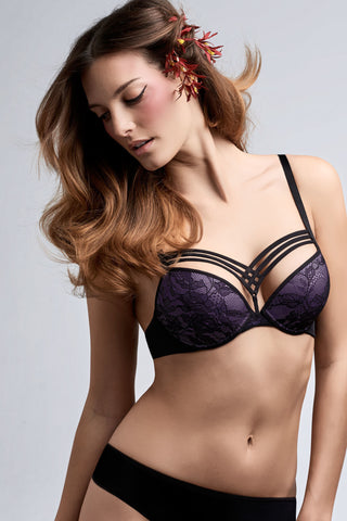 Marlies Dekkers -  Dame De Paris Push Up Bra in Hidden Purple