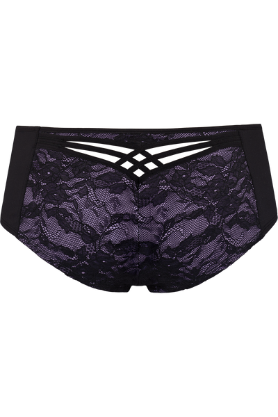Marlies Dekkers - Dame de Paris 12cm Brazilian Short in Hidden Purple