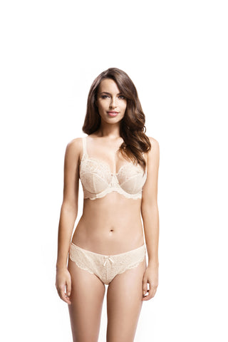 Panache - Andorra Full Cup Balconnet Bra in Pearl