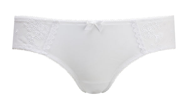 Cleo - Lucy Brief in White