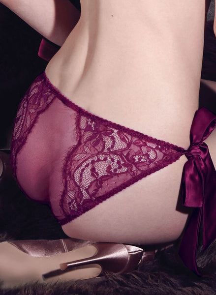 Fleur of England - Aurora Lace Bow Tie Brief