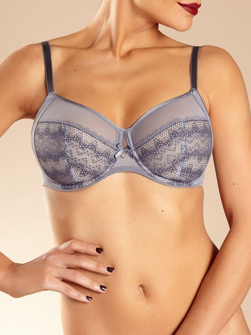 Chantelle - Revele Moi 4-Part Bra in City Grey