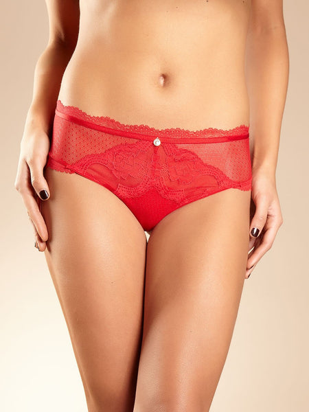Chantelle - Presage Hipster in Poppy Red