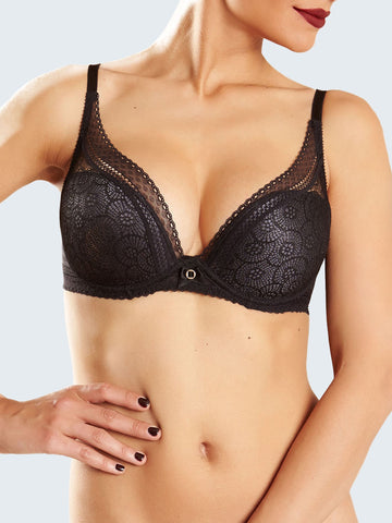 Chantelle - Festivite Sexy T-Shirt Bra in Black