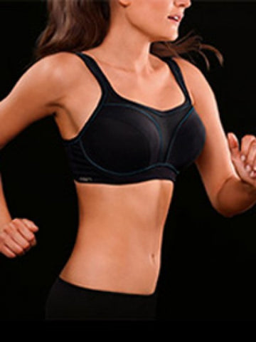 Chantelle - High Impact Multi-Way Sports Bra Black