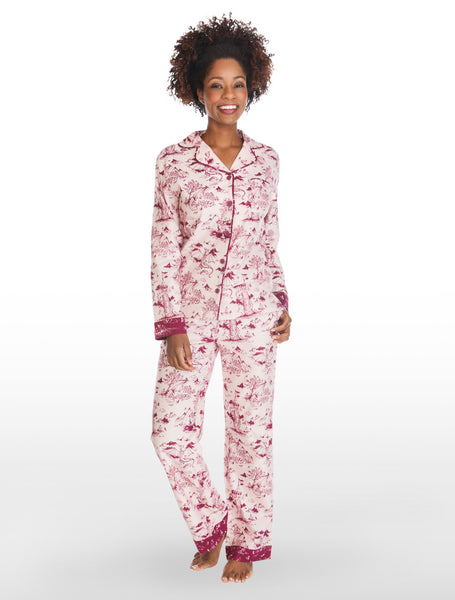 Munki Munki - Toile Dragon Flannel Pyjamas
