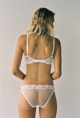 Lonely Hearts - Bonnie Underwire Bra in Ivory