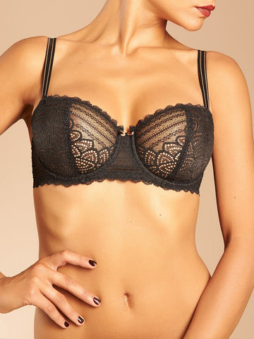 Chantelle - Merci Demi Bra in Black