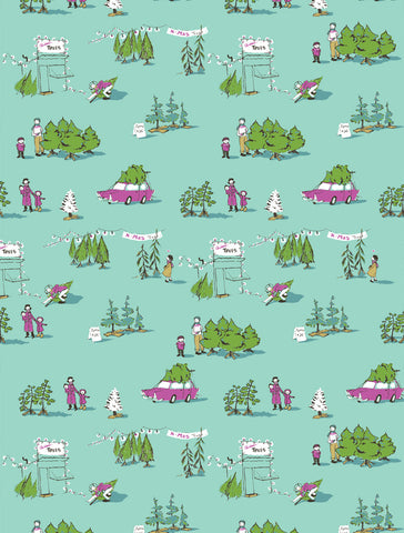 Munki Munki - Holiday Tree Lot Classic Flannel