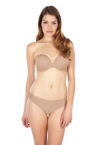 Panache - Porcelain Moulded Strapless Bra in Nude