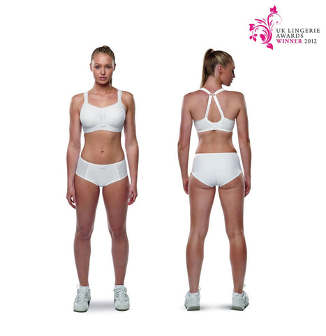 Panache Sport - Sports Bra in White