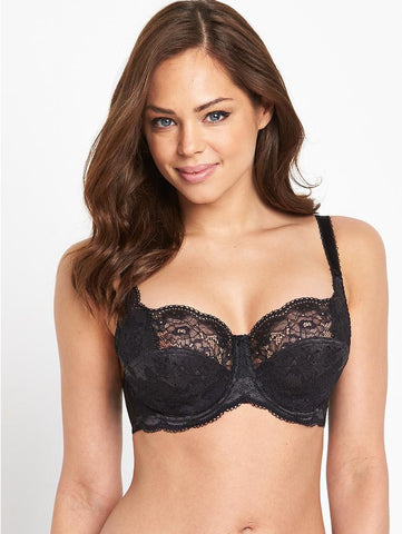 Panache - Clara Bra in Charcoal/Black