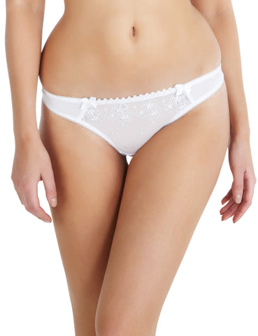 Cleo - Lucy Thong in White