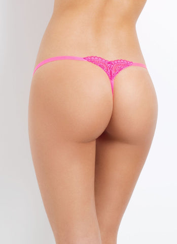 L'Agent by Agent Provocateur - Vanesa Trixie Thong in Neon Melon