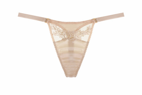 Fleur of England - Golden Hour Silk Thong