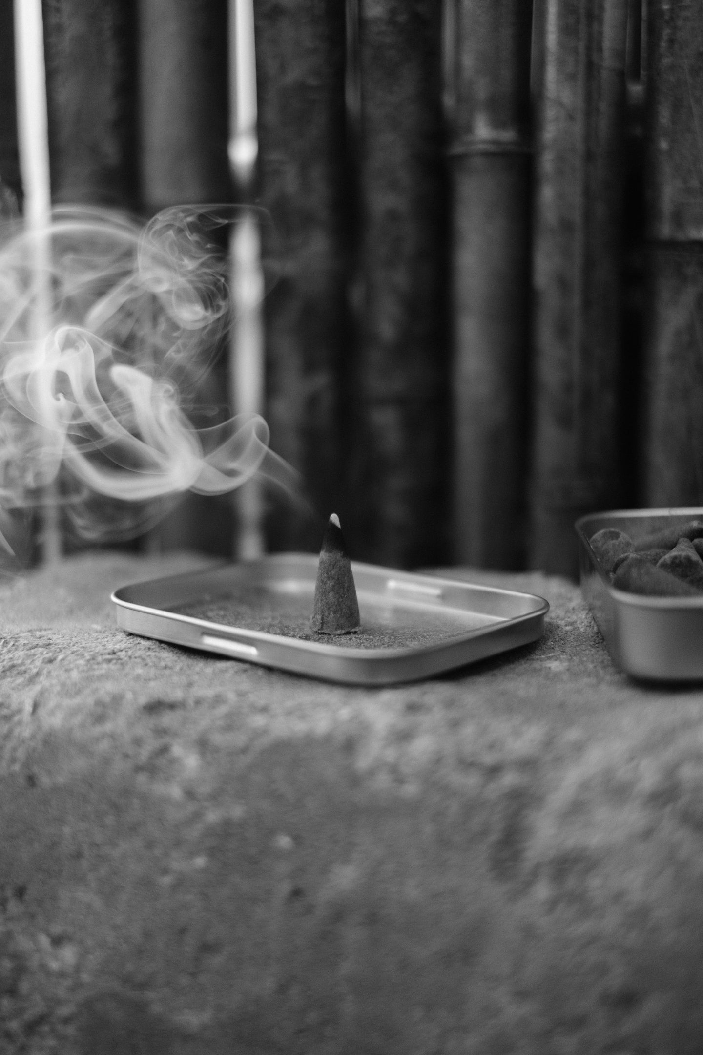 Incense cones to the rescue.