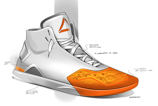 IDRAW Features: Reebok Footwear designer Jovan Popovic