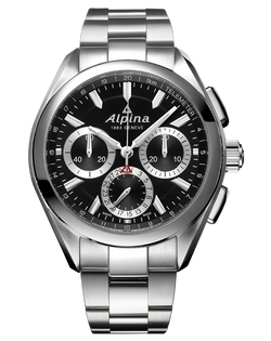 ALPINA ALPINER 4 MANUFACTURE FLYBACK CHRONOGRAPH BLACK