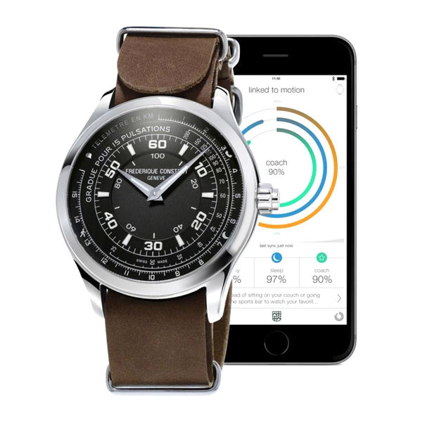 FREDERIQUE CONSTANT HOROLOGICAL SMARTWATCH NOTIFY CHRONO - MAMUT JEWELS