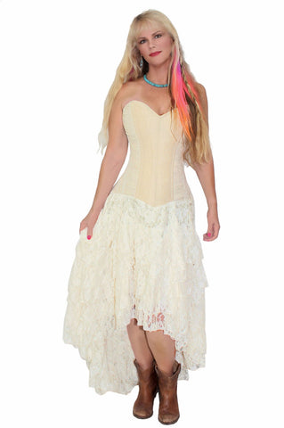 Burleska Helena Steampunk Corset Strapless Wedding Dress Burleska