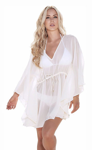 Chiffon Grecian Style Cover Up Beach Dress Mapale