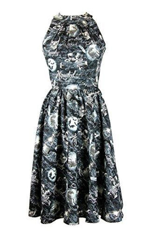 Folter Halloween Dress Wicked Retro Haunted Folter