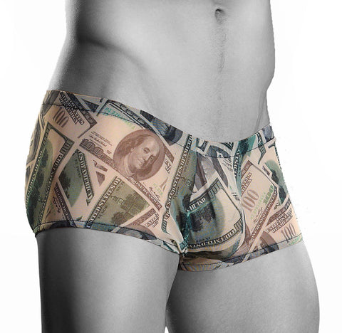 Men's Benjamin Mini Short Boxer Brief Male Power