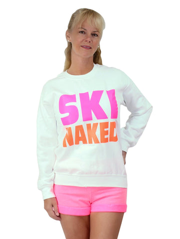 Men's Ski Naked Crew Neck Sweatshirt Nyteez