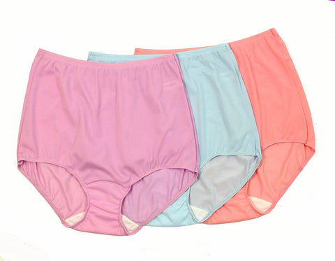 Shadowline New Comfort Band Full Brief Panty 3-Pack Shadowline