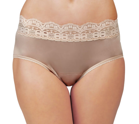Shadowline New Contour Nylon Hipster Panty 1 Pair 11099 Shadowline