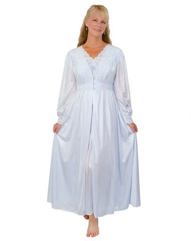 Shadowline Silhouette Cap Sleeve Nightgown Peignoir Set Shadowline