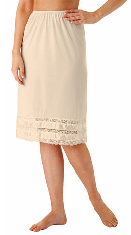 Shadowline Snip-it Half Slip Lace Dress Extender Skirt 2702 Shadowline