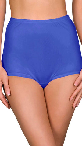 Shadowline Women's Nylon Full Brief Panty Hidden Elastic 17032 Shadowline