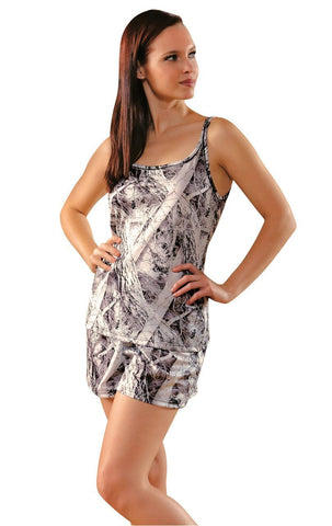 Wilderness Dreams Women's Naked North Camouflage Short Pajama Set Wilderness Dreams