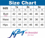 Women's Plus Size Split Angel Sleeve Short V-Neck Cocktail Party Dress Symphony