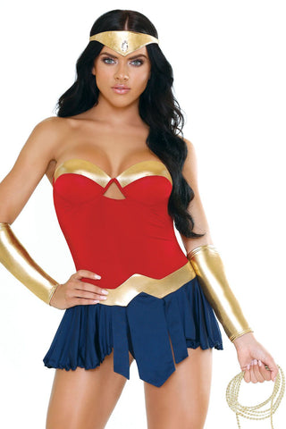 Women's Wonder-ful Super Hero Costume Fantasy Lingerie